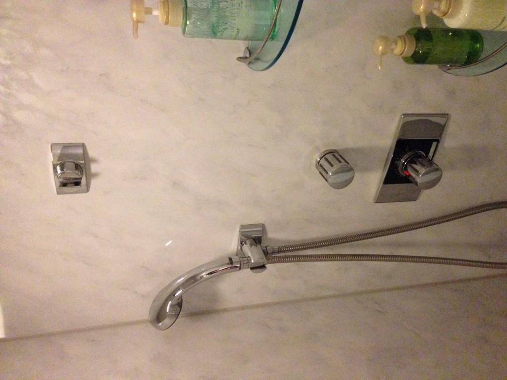 シャワーの様子